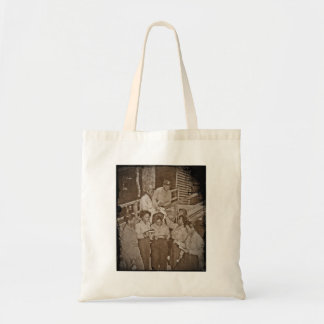 Nurses in the SW Pacific Getting Mail Budget Tote Bag