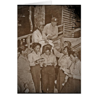 Nurses in the SW Pacific Getting Mail Card