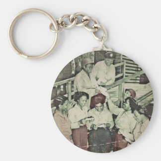 Nurses in the SW Pacific Getting Mail Key Chain