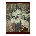 Nurses in the SW Pacific Getting Mail Post Card