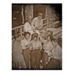 Nurses in the SW Pacific Getting Mail Post Cards
