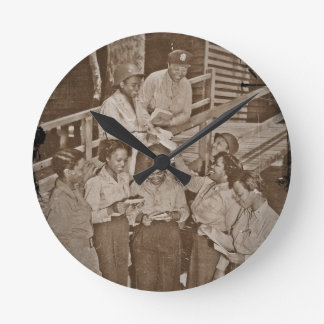 Nurses in the SW Pacific Getting Mail Round Clock