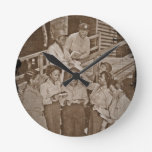 Nurses in the SW Pacific Getting Mail Wall Clocks