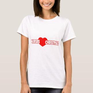 Nurses Love Christmas T-Shirt