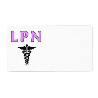 Nurses LPN Medical Label