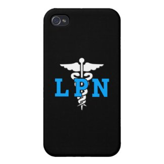 Nurses LPN Medical Symbol iPhone 4 Cover