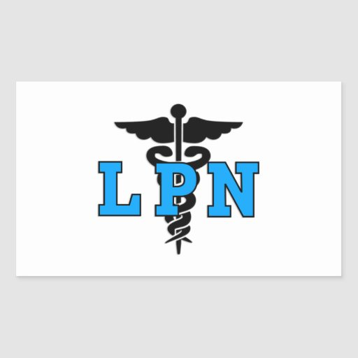 Nurses LPN Medical Symbol Sticker