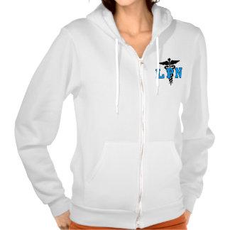 Nurses LPN Medical Symbol Hooded Sweatshirt