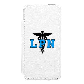 Nurses LPN Symbol Wallet Case For iPhone SE/5/5s
