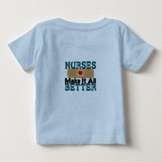 Nurses Make It All Better Baby T-Shirt