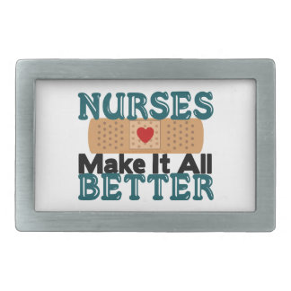 Nurses Make It All Better Belt Buckle