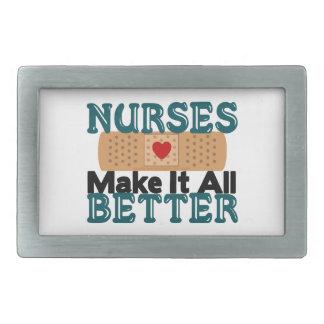 Nurses Make It All Better Belt Buckle