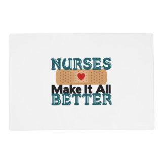 Nurses Make It All Better Placemat