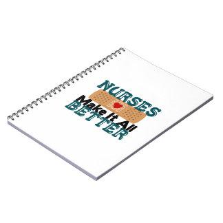 Nurses Make It All Better Spiral Notebook