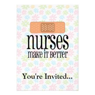 Nurses Make it Better, Bandage Announcement