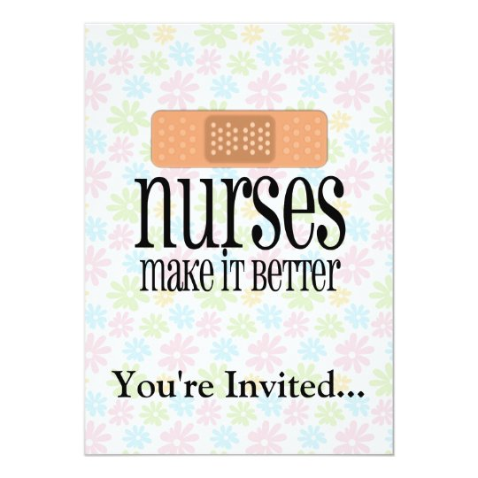 Nurses Make it Better, Bandage Card