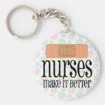 Nurses Make it Better, Bandage Keychain