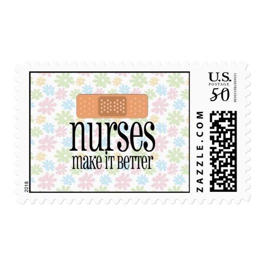 Nurses Make it Better, Bandage Postage