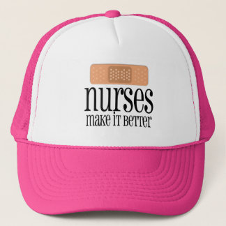 Nurses Make it Better, Bandage Trucker Hat