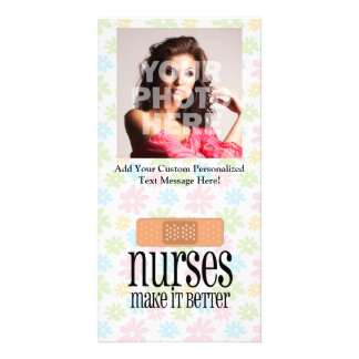 Nurses Make it Better, Cute Nurse Bandage Card