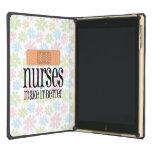 Nurses Make it Better, Cute Nurse Bandage iPad Air Case