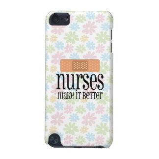 Nurses Make it Better, Cute Nurse Bandage iPod Touch 5G Cover