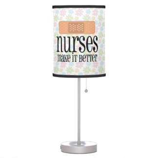 Nurses Make it Better, Cute Nurse Bandage Desk Lamp