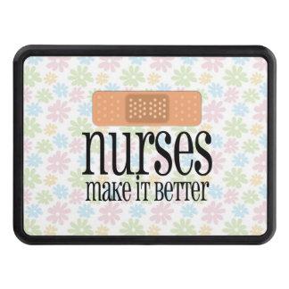 Nurses Make it Better, Cute Nurse Bandage Tow Hitch Cover