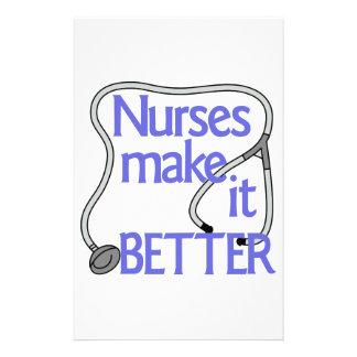 Nurses Make It Better Stationery
