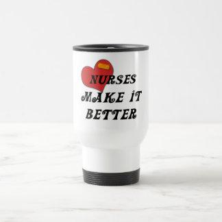 Nurses Make It Better Travel Mug