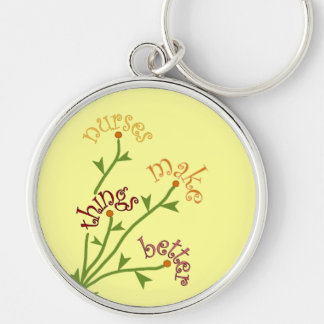 Nurses Make Things Better Bouquet Keychain