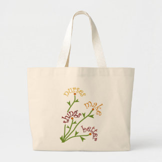 Nurses Make Things Better Bouquet Tote Bag