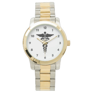 Nurses Medical Symbol Wristwatch