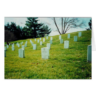 Nurses Memorial Arlington National Cemetery Greeting Card