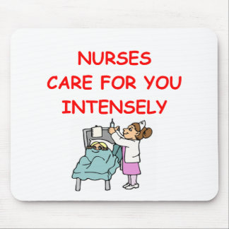 nurses mouse pad