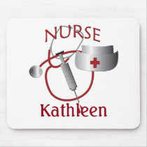 Nurses Name Nurse Custom Mousepad