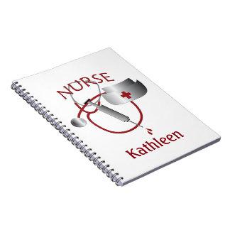 Nurses Name Nurse Custom Notebook