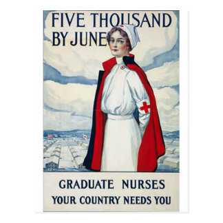 Nurses Needed Postcard
