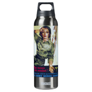 Nurses Needed Recruitment Poster Insulated Water Bottle