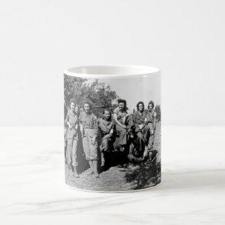 Nurses of a field hospital who arrived_War Image Coffee Mug