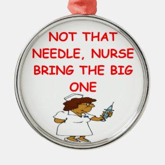 nurses christmas ornaments