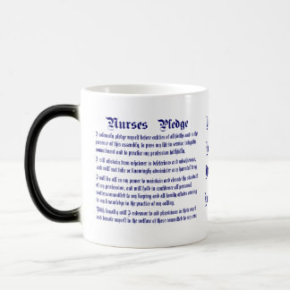 Nurses Pledge Modified please view about design Magic Mug