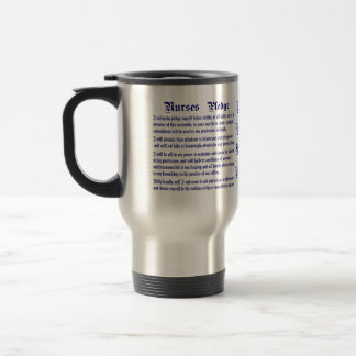 Nurses Pledge Modified please view about design Travel Mug