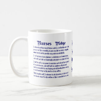 Nurses Pledge Not Jumbo Modified please view Coffee Mug