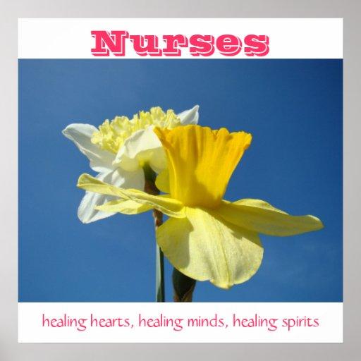 Nurses posters Healing hearts minds spirits Nurse