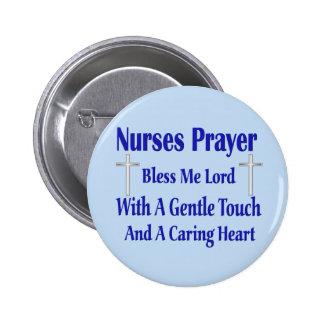 Nurses Prayer Pinback Button