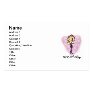 Nurses R Angels T-shirts and Gifts Business Cards