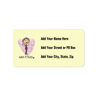 Nurses R Angels T-shirts and Gifts Label