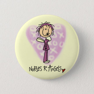 Nurses R Angels Tshirts and Gifts Button