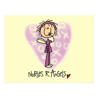 Nurses R Angels Tshirts and Gifts Postcard